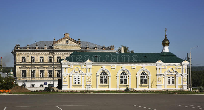 Igreja de Alekseevskaya em Kungur Perm Krai Rússia fotos de stock