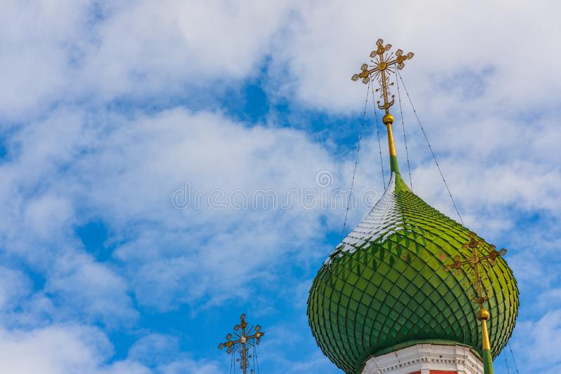 Igreja de Alexander Nevsky em Pereslavl-Zalessky, Rússia imagem de stock