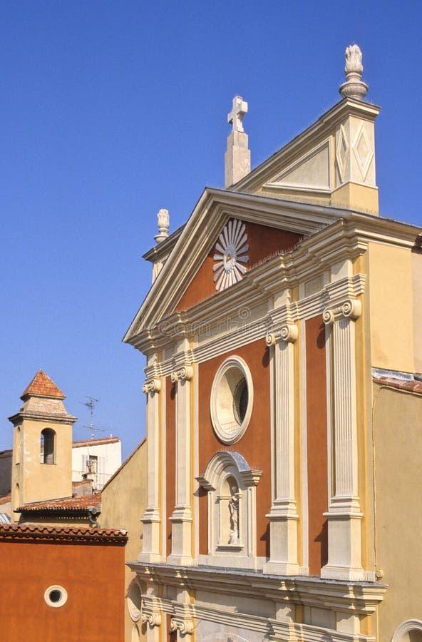 Igreja de Antibes fotos de stock royalty free