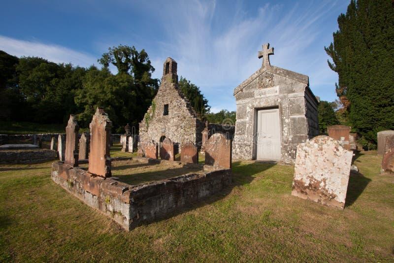 Igreja de Anwoth, Dumfries e Galloway velhos, Escócia foto de stock