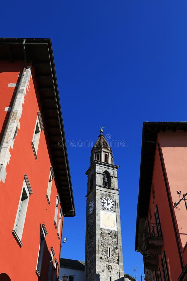 Igreja de Ascona imagens de stock royalty free
