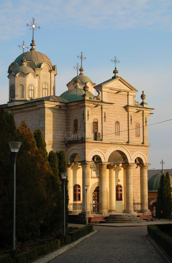 Igreja de Barboi em Iasi foto de stock