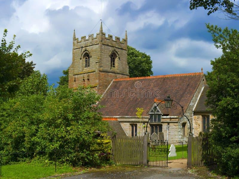 Igreja de Beoley imagem de stock royalty free