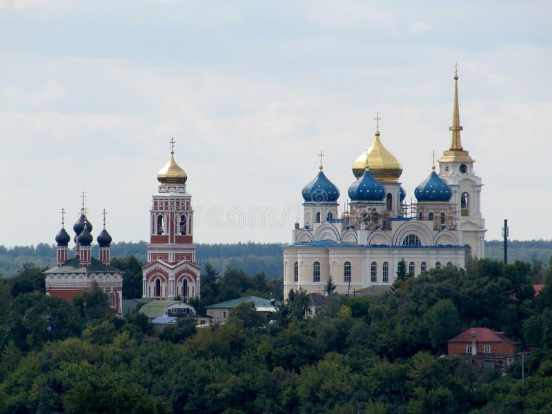 A igreja de Bolkhov fotos de stock