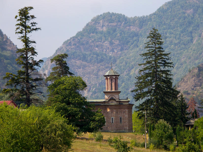 Igreja de Bolnita Cozia fotos de stock