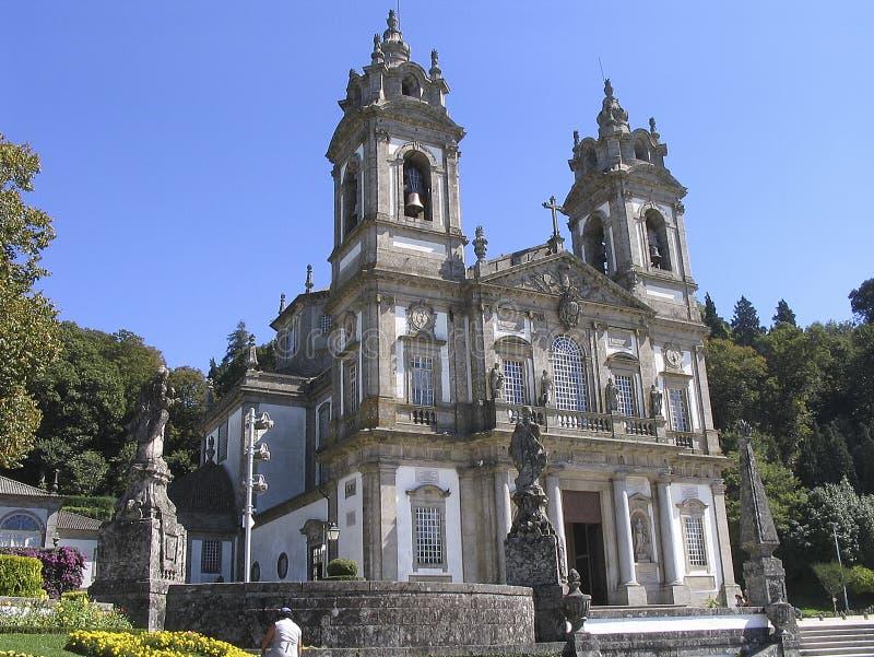 Igreja de Bom Jesus de Braga - Portugal stock image
