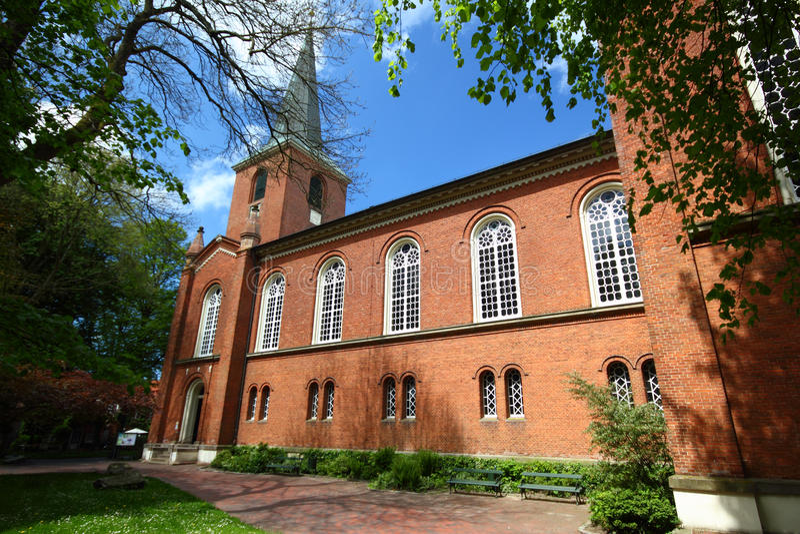 Igreja de Brickstone foto de stock royalty free