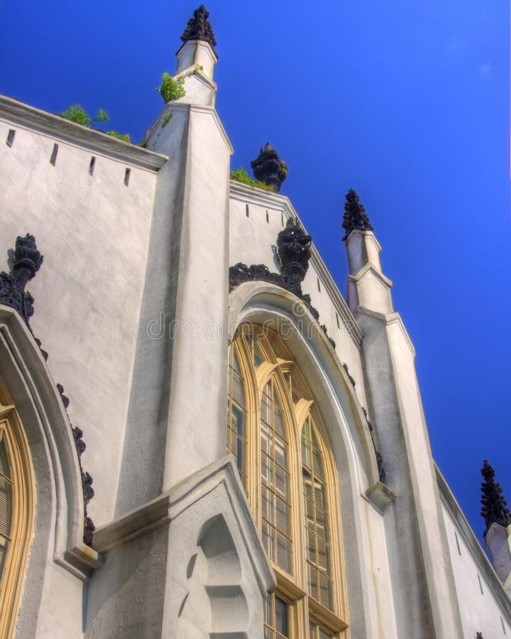 Igreja de Charleston fotos de stock