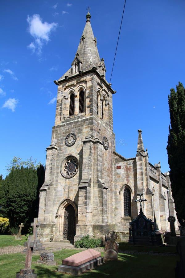 Igreja de Chris, Kilndown imagens de stock royalty free