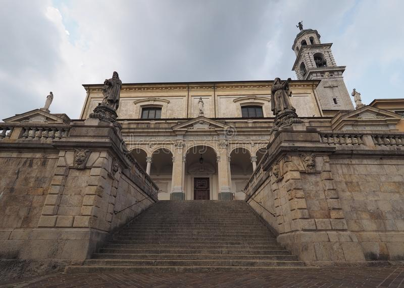 Igreja de Clusone, Bergamo, Lombardy, Itália imagens de stock royalty free