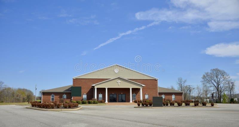 Igreja de Cristo de Brownsville, Tennessee Building foto de stock royalty free