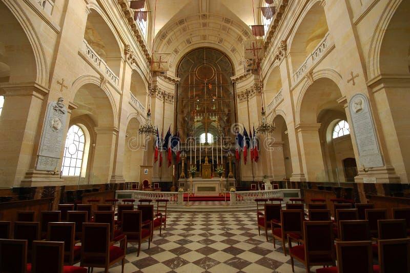 Igreja de DES Invalides do hotel em Paris imagens de stock