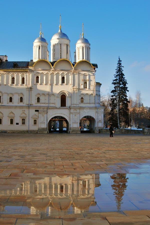 Igreja de doze apóstolos do Kremlin de Moscou Foto a cores fotos de stock
