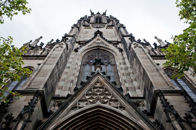 Igreja de Elisabethenkirche em Basileia fotos de stock