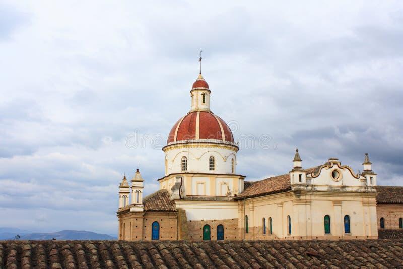 Igreja de Equador fotos de stock royalty free