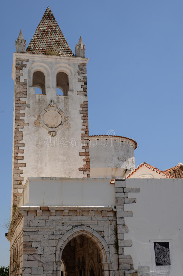 Igreja de Estremoz imagens de stock