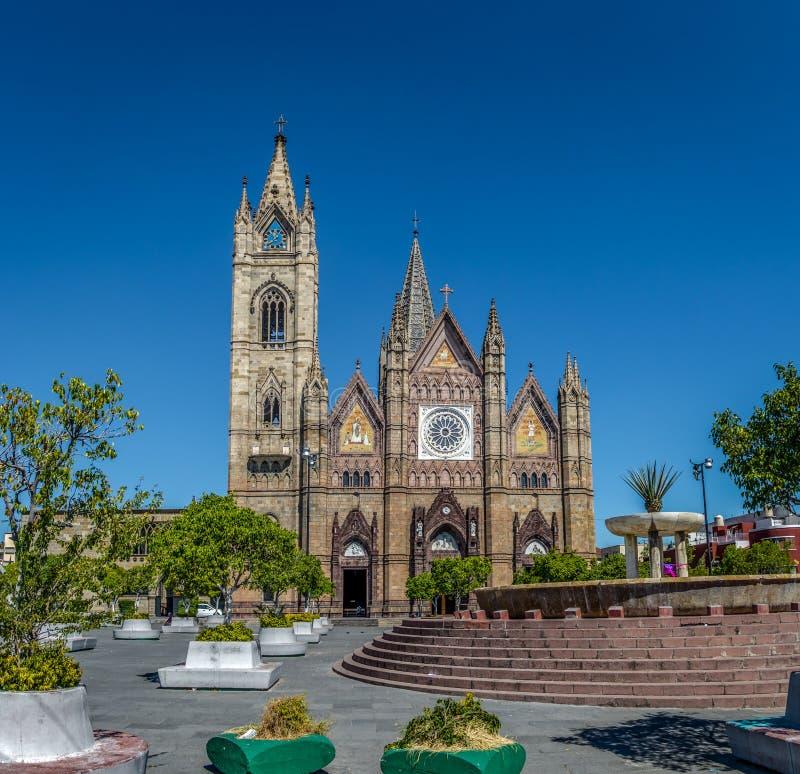A igreja de Expiatorio - Guadalajara, Jalisco, México imagem de stock