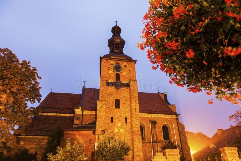Igreja de Farny em Gniezno fotos de stock royalty free