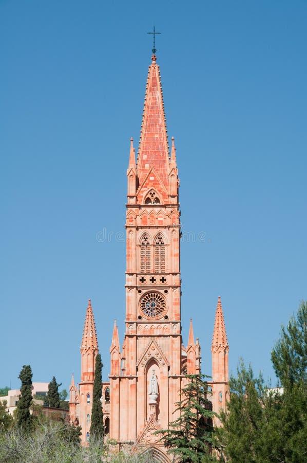 Igreja de Fatima, Zacatecas (México) foto de stock royalty free
