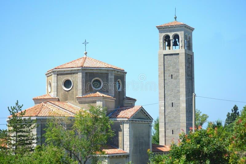Igreja de Giovanni Battista Northern Italy imagem de stock