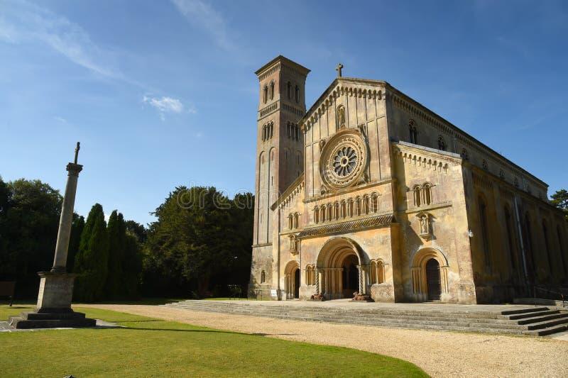 Igreja de Italianate, Wilton, Salisbúria, Wiltshire imagens de stock