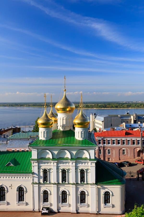 Igreja de John The Baptist, Nizhny Novgorod fotos de stock royalty free