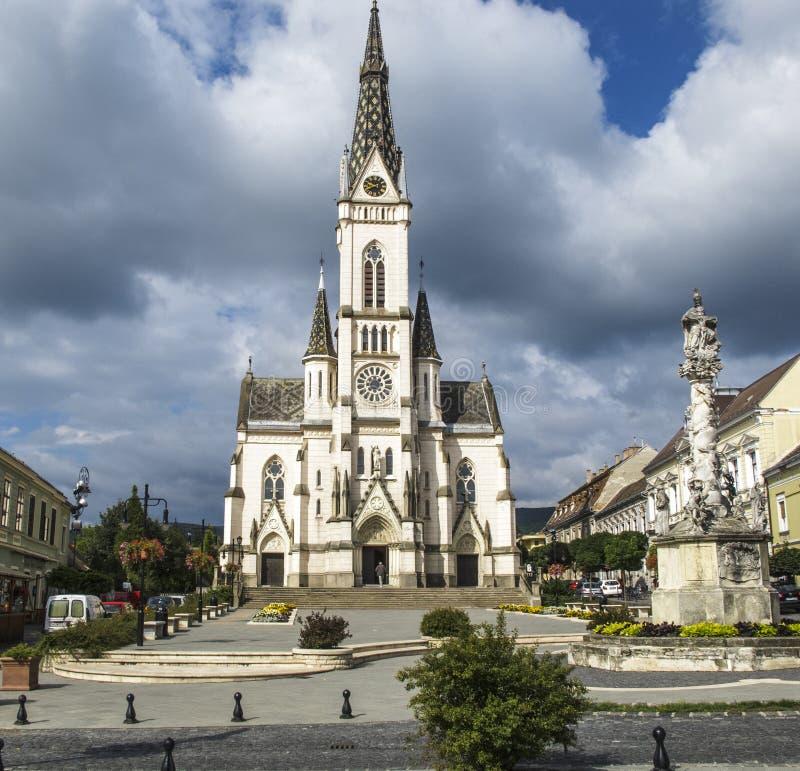 Igreja de Koszeg Hungria Europa do coração sagrado foto de stock royalty free