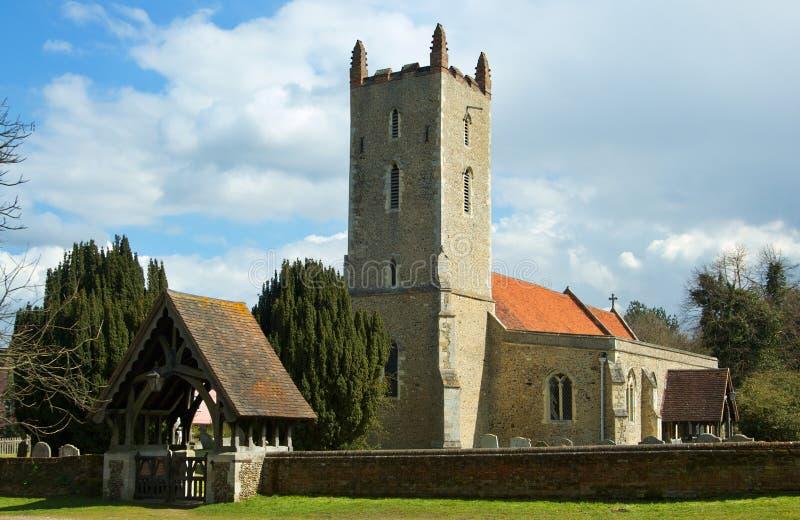 Igreja de Langham fotografia de stock