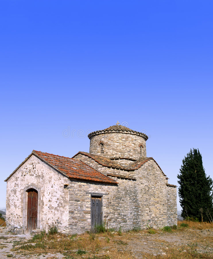 Igreja de Lefkara fotos de stock royalty free