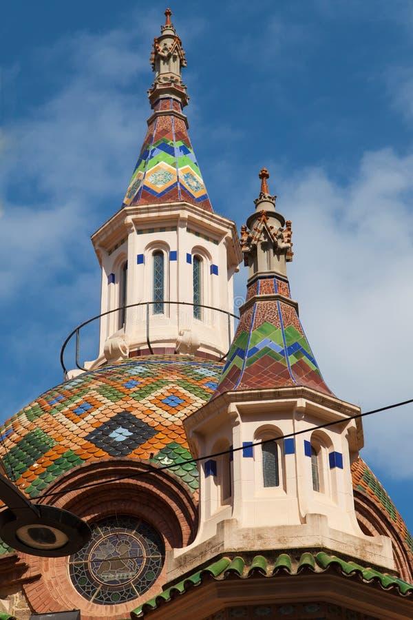 Igreja de Lloret fotografia de stock
