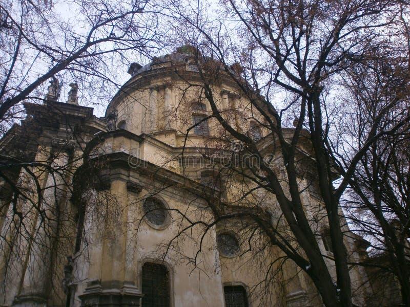 Igreja de Lviv foto de stock royalty free
