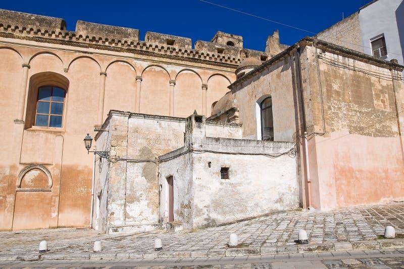 Igreja de mãe de Massafra. Puglia. Itália. fotos de stock