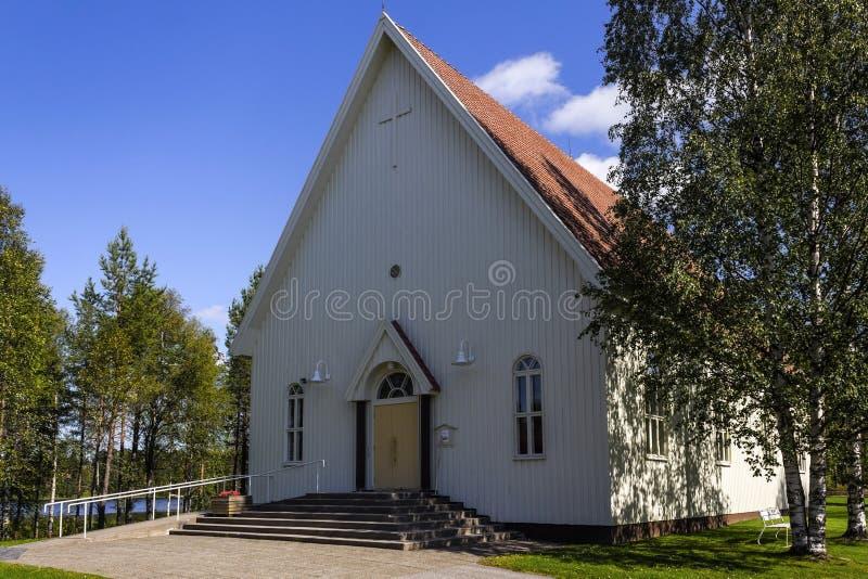 Igreja de madeira fotos de stock