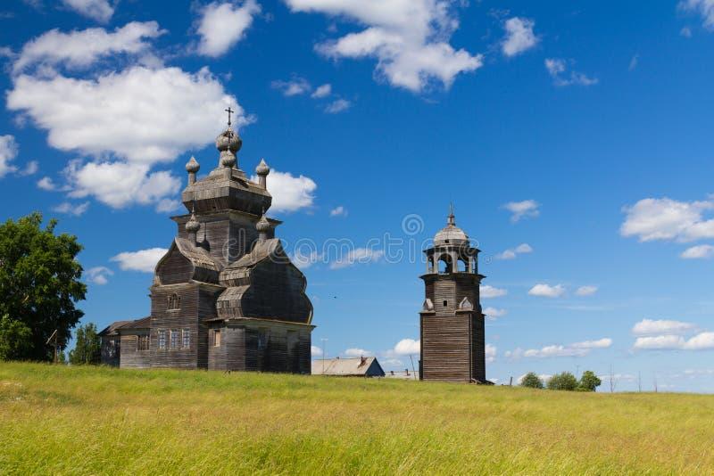 Igreja de madeira foto de stock royalty free