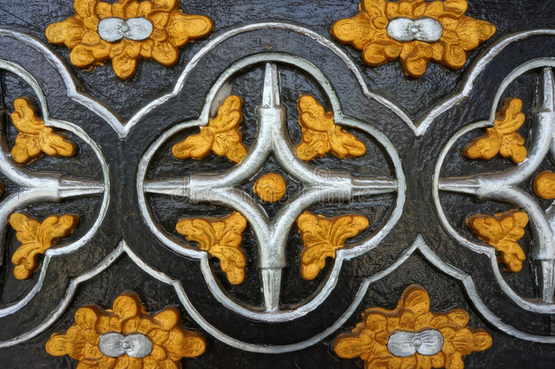 Igreja de madeira de Kontum, catedral antiga, herança imagens de stock royalty free