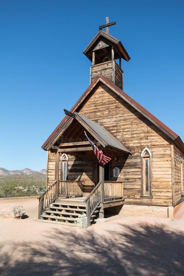 Igreja de madeira velha fotografia de stock royalty free