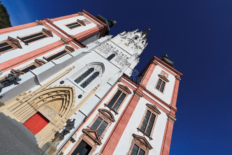 Igreja de Mariazell fotos de stock royalty free
