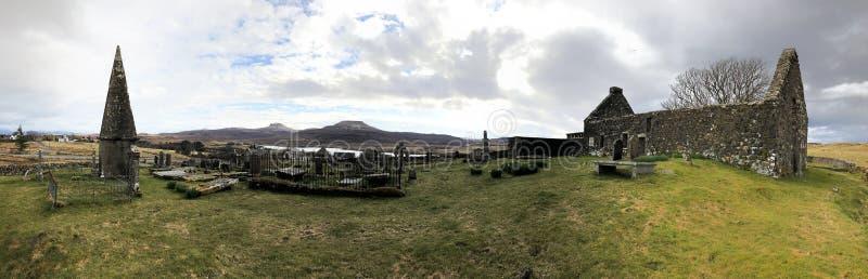 Igreja de Mary's de Saint em Dunvegan, Escócia fotografia de stock royalty free