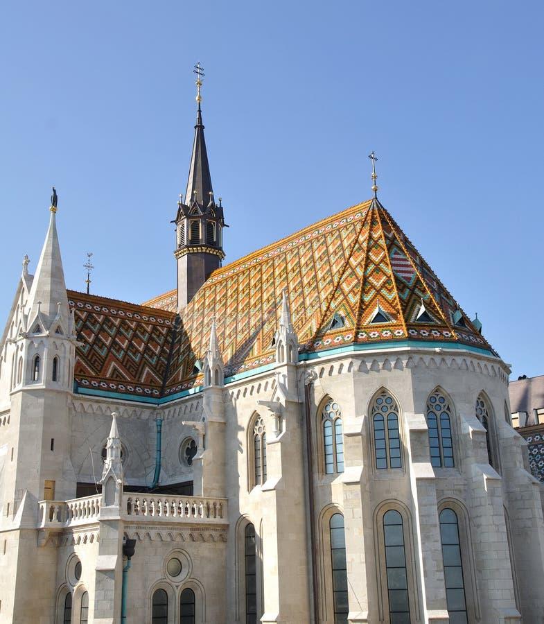 Igreja de Matthias fotos de stock royalty free
