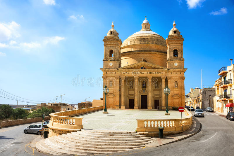 Igreja de Mgarr malta fotografia de stock royalty free