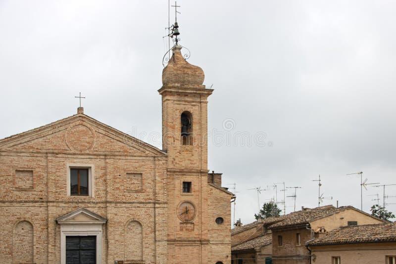 A igreja de Monte Morello fotos de stock