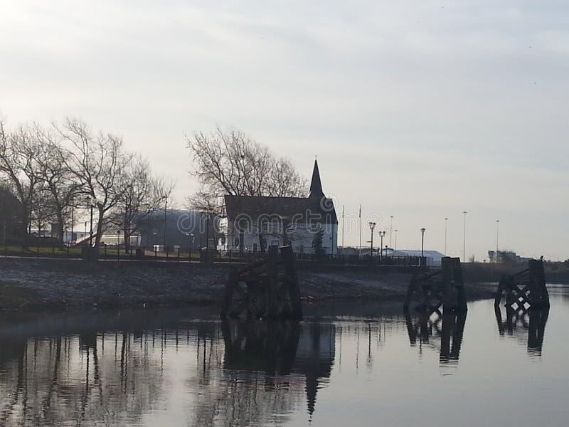 Igreja de Norweigian imagem de stock royalty free