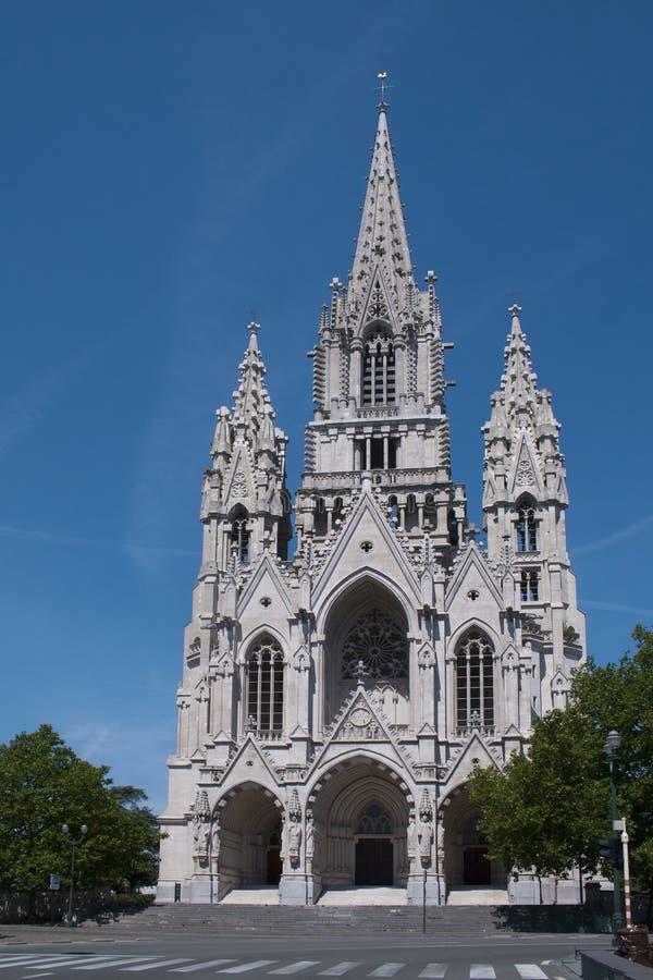 Igreja de nossa senhora de Laken imagens de stock royalty free