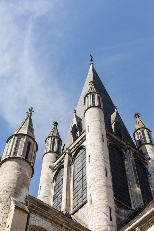 Igreja de Notre Dame, Dijon, França fotografia de stock