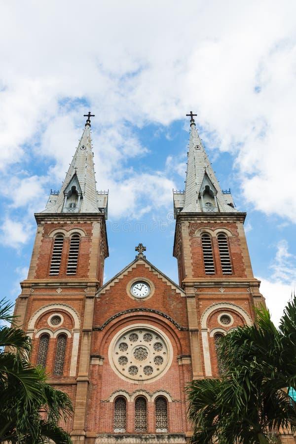 A igreja de Notre Dame, Ho Chi Minh City fotos de stock royalty free