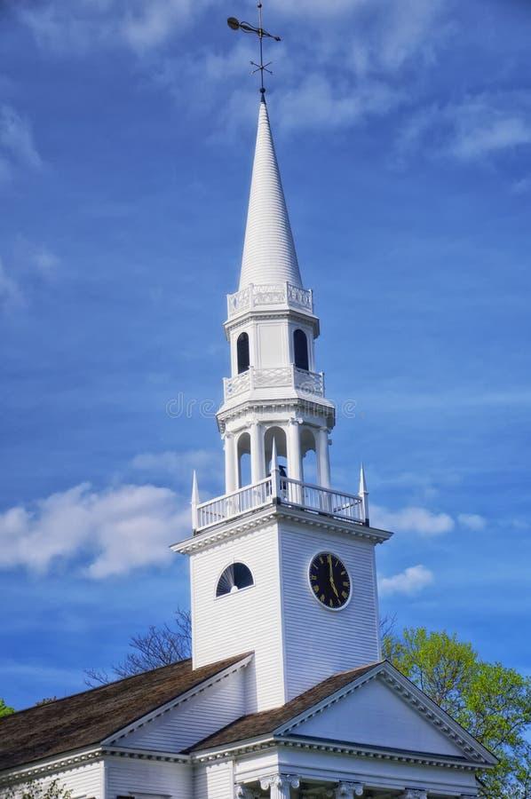 Igreja de Nova Inglaterra imagem de stock royalty free