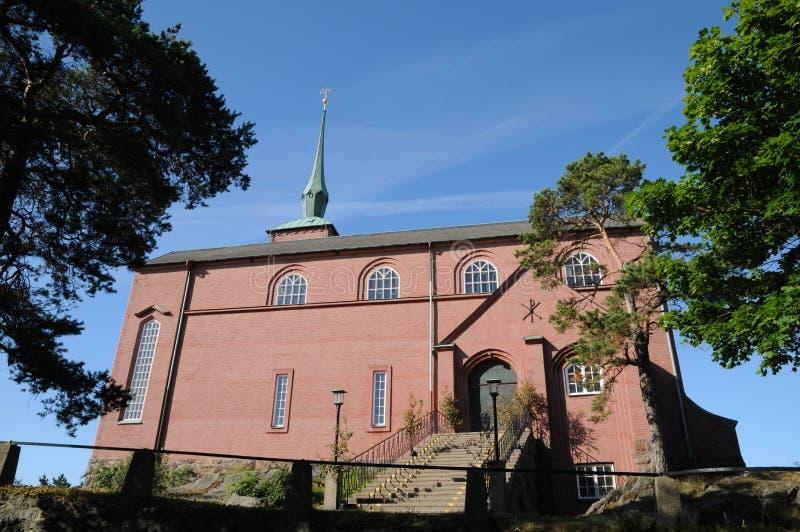 Igreja de Nynashamn foto de stock royalty free