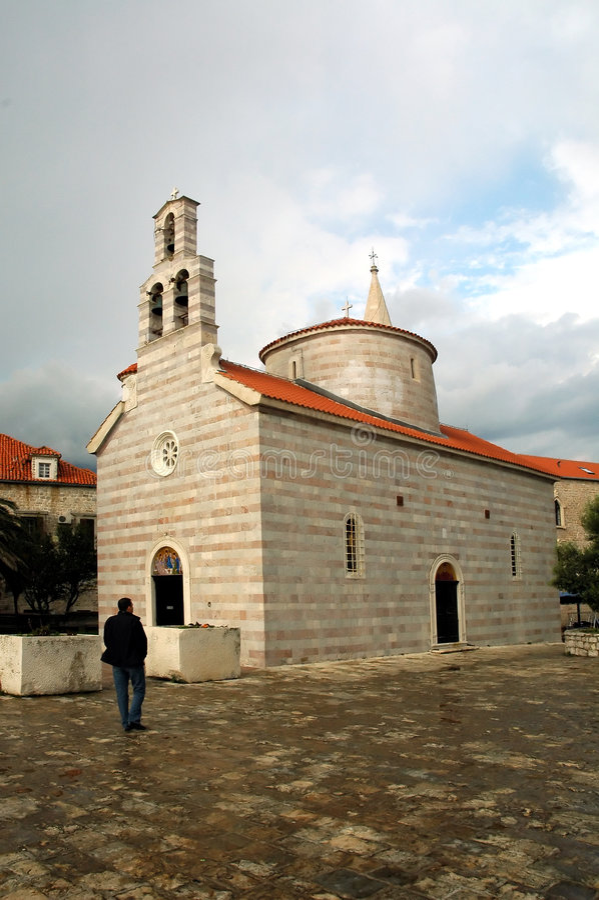 Igreja de Ortodox imagem de stock royalty free