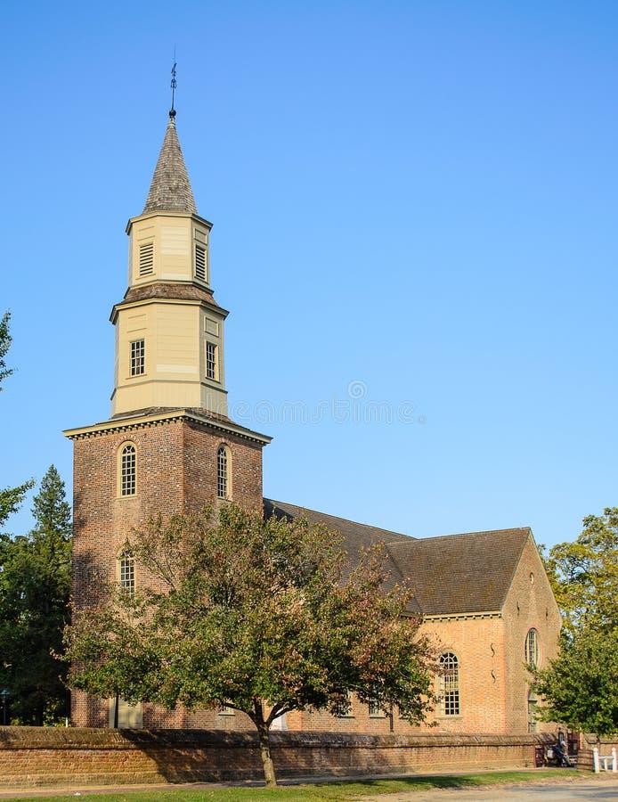 Igreja de paróquia de Bruton foto de stock royalty free