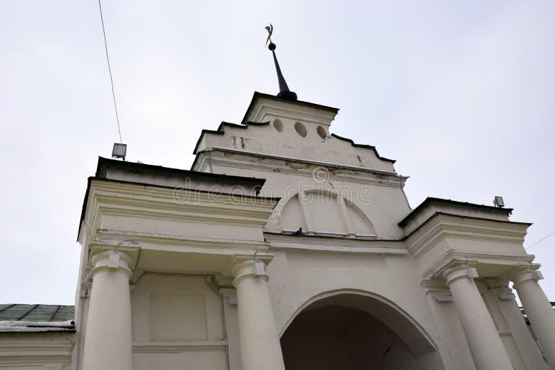 Igreja de pedra branca de Rússia fotos de stock